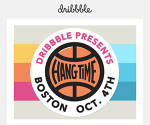 Dribbble email newsletter September 2017