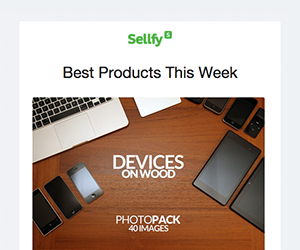 Sellfy email newsletter January 2015
