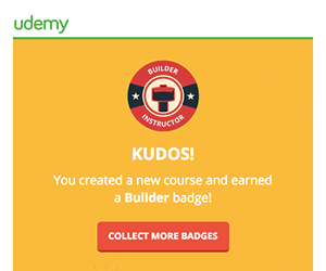Udemy email newsletter January 2015